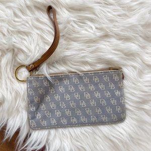vintage dooney and bourke change purse